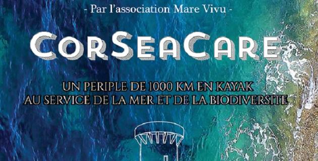 CorSeaCare : Un périple de 1000 km en kayak au service de la mer et de la biodiversité
