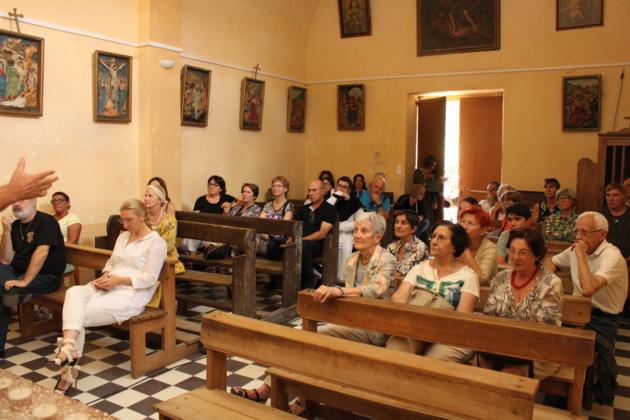 Conférence de l'associu Guardia Corsa Papale aux journées Sampieru à Bastelica