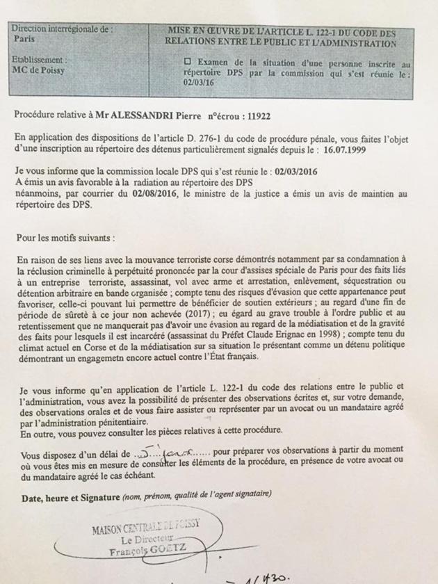 """L'ora di u ritornu"" : Pas pour demain pour Pierre Alessandri et Alain Ferrandi"