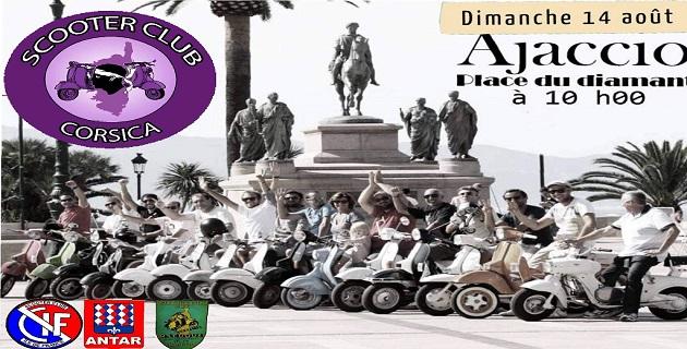 Le Scooter Club Corsica organise son rassemblement annuel dimanche