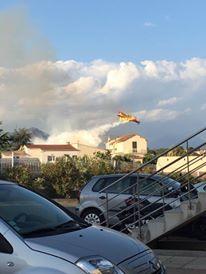 Ajaccio : Important incendie à Alzo di Leva. Un pompier victime d'un malaise hospitalisé
