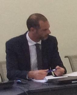 David Teisseire, coordonnateur adjoint pour la sécurité en Corse.