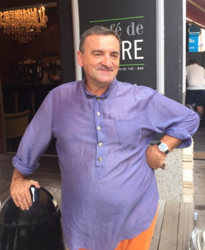 Dumè Catalini, Président intérimaire du comité des commerçants de la rue Fesch.