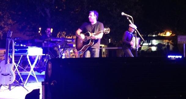 Jean Menconi en concert le 16 août  à l'Ile-Rousse