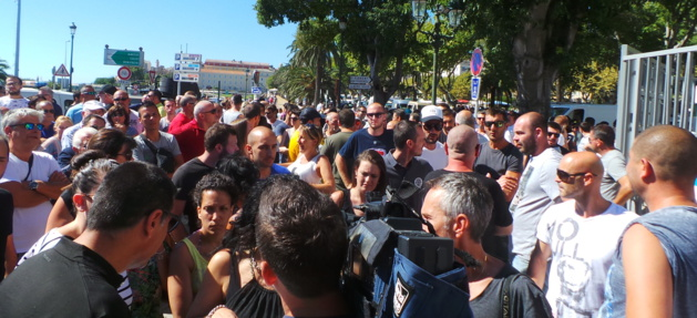 Sisco : Rassemblement et colère contenue à Bastia