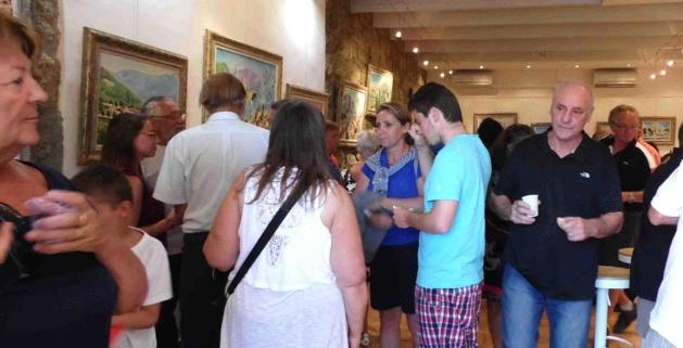 Propriano : Sculptures à la galerie Fronti di Mare