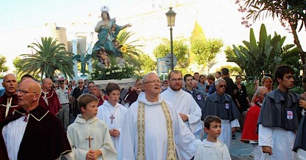 15-Août religieux : Procession de Sainte Marie sous protection à Calvi
