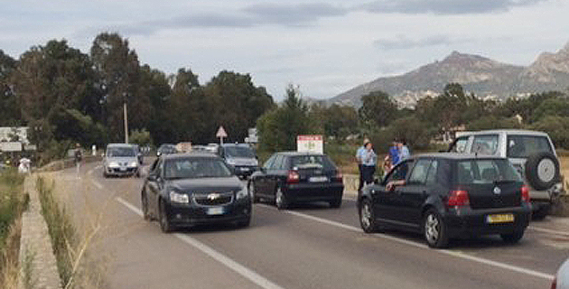 Calvi : 14 personnes impliquées dans un carambolage qui a fait 5 blessés et  provoqué un énorme embouteillage