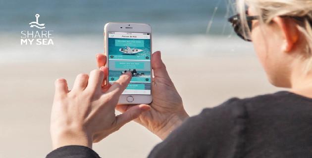 ShareMySea : La 1ère application mobile de nautisme collaboratif est disponible depuis juin