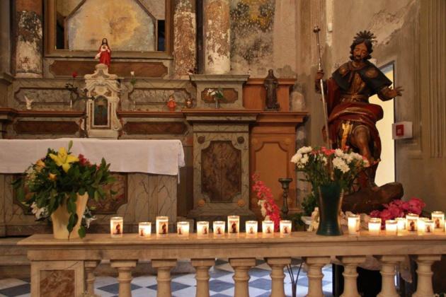 San Rucchellu fêté mardi soir à Ajaccio : Ambiance, ferveur, amitié