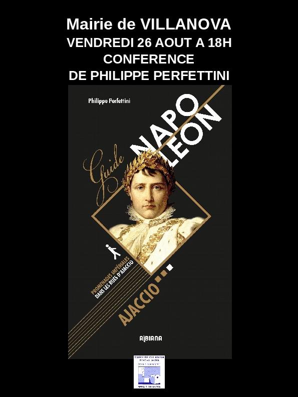 Villanova : Conférence de Philippe Perfettini
