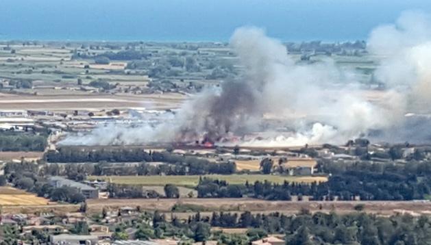 Incendie : 4 hectares détruits à Lucciana