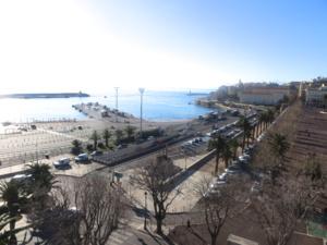 L'actuel port de commerce de Bastia.