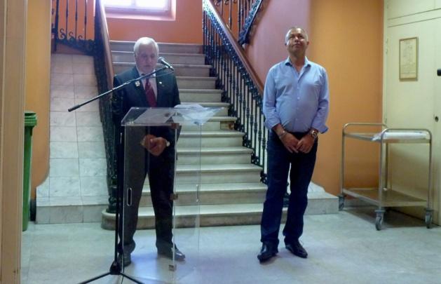 Ajaccio : Le Souvenir Français s'expose à la mairie