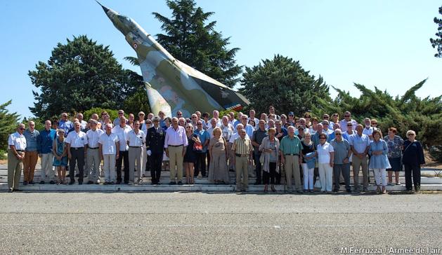 Les anciens de l'Armée de l'Air en assemblée générale à la BA 126