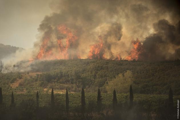 La Conca d'Oru en feu : Le diaporama de Jean-Baptiste Andreani