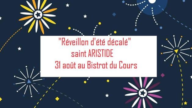 """Ajaccio : Soirée de la Saint Sylvestre """"décalée"""", le 31 Août au Bistrot du Cours"""