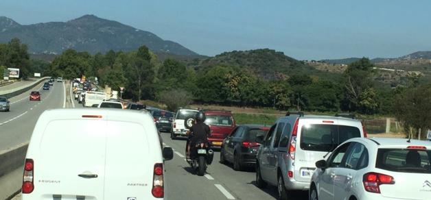 Ajaccio : Le motard gravement blessé est décédé