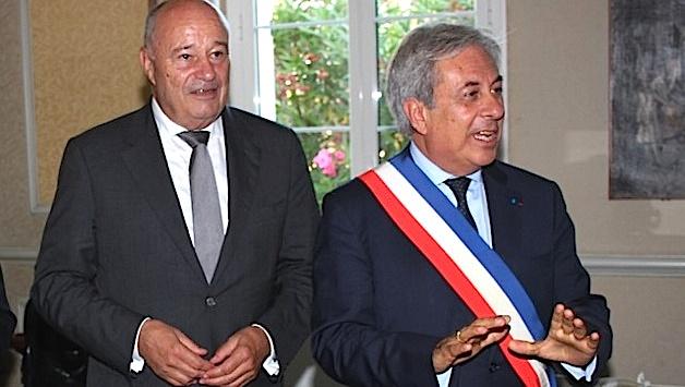Jean-Michel Baylet reçu à l'hôtel de ville de Calvi