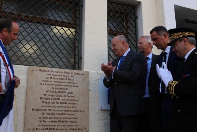 """Jean-Michel Baylet à Calenzana: """"Le retour du service public dans les zones rurales"""""""
