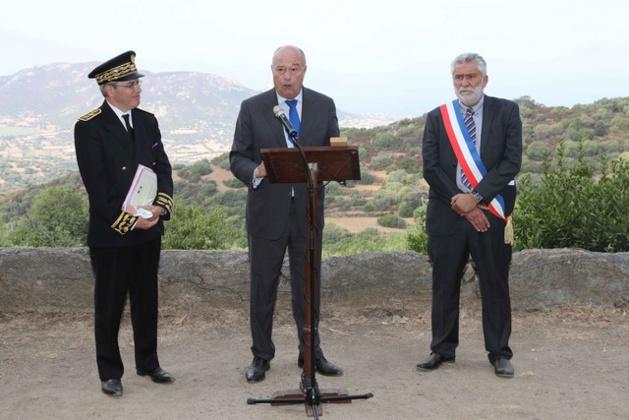 J.-M.Baylet à Corbara à la rencontre les acteurs du Pays de Balagne