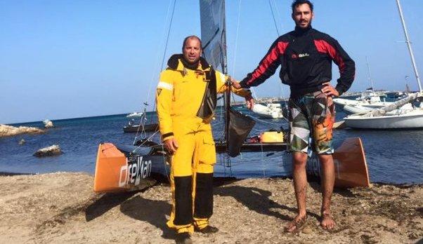 Record du Tour de Corse à la voile : La tentative de Eric Delert a échoué