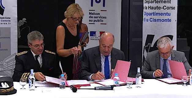 Baylet en Corse : L'heure du bilan pour le ministre, Gilles Simeoni, François Orlandi