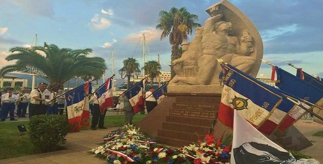 73ème anniversaire de la Libération d'Ajaccio et de l'Insurrection libératrice