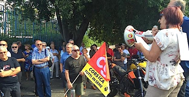 Loi travail : Manifestation dans le calme à Bastia