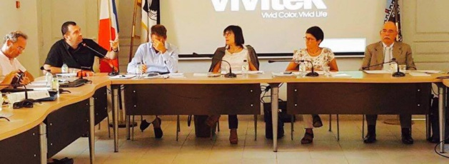 Intervention de Jean-Charles Orsucci, maire de Bonifacio, lors de la réunion préparative du G.E.C.T.