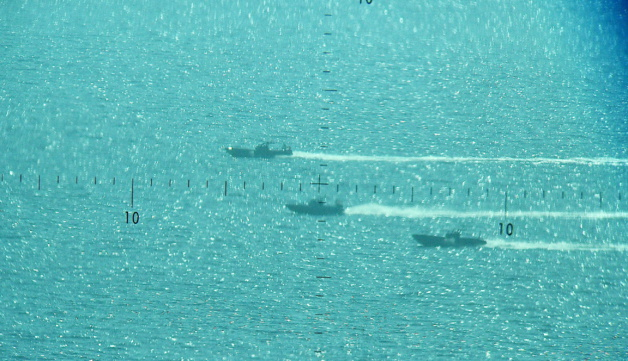 7 embarcations rapides interceptées au large des côtes corses : Le dispositif de protection efficace