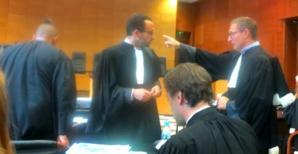 Les avocats de la défense de la famille Benhaddou.