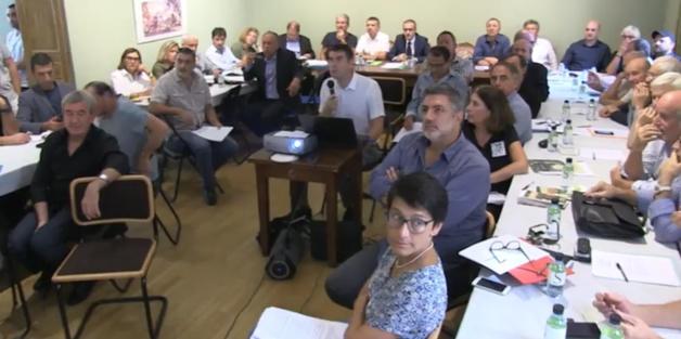 2de réunion du Comité de massif corse, à Bocognano.