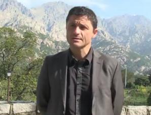 Jean-Felix Acquaviva, Président du Comité de massif corse.