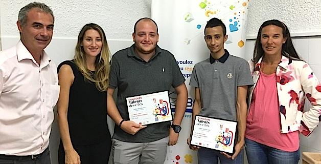 Deux Bastiais primés au concours Talents des Cités 2016