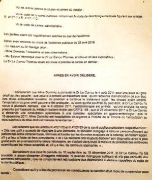 Sa patiente amputée pour gangrène dépassée : Un mois de suspension avec sursis pour un médecin bastiais
