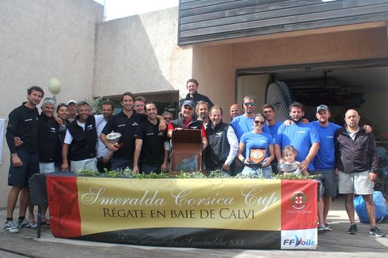 "Calvi : Beda"" Skippé par Tim Sukahotin remporte la ""Smeralda 888 Corsica Cup"""