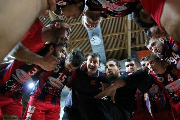 Handball N2M : Première satisfaisante pour le GFCA à Vitrolles