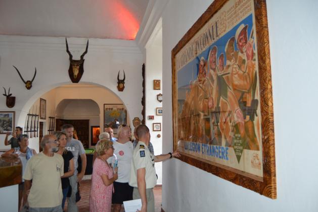 Journées européennes du patrimoine : Le 2e REP de Calvi « au contact » du public !