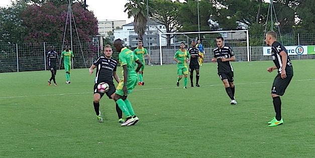 Le CAB tombe en fin de match à Lyon-Duchère