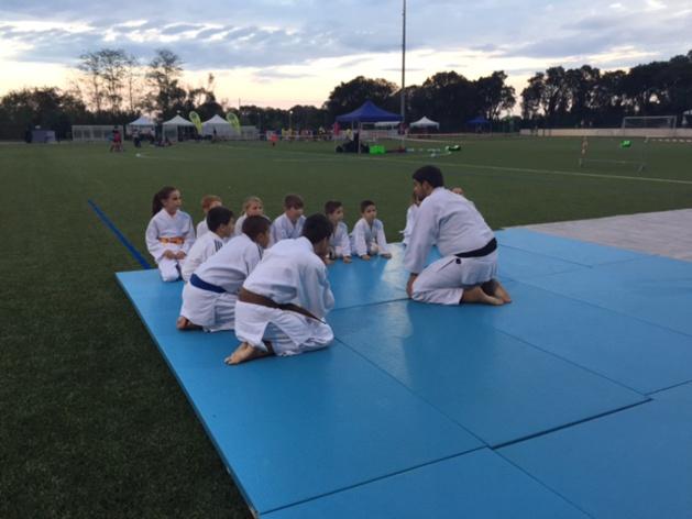 Les enfants du Vescovato Judo club