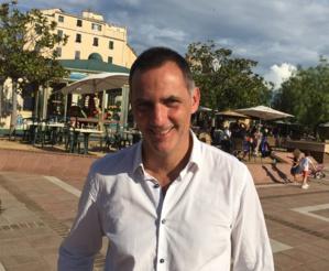 Gilles Simeoni, Président du Conseil exécutif de l'Assemblée de Corse.