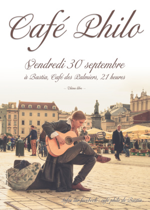 Café-philo de Bastia : La reprise