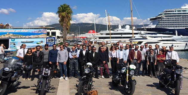 "Ajaccio : 26 ""Riders"" collectent 489 euros pour la recherche contre le cancer de la prostate"