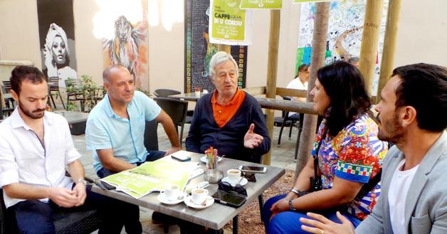 Bastia : Principià u Caffè di u Corsu