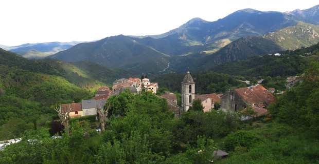 Les villages de montagne du Centre Corse.