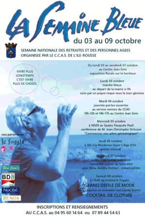 """Plusieurs manifestations à l'occasion de la """"Semaine bleue"""" à L'Ile-Rousse"""