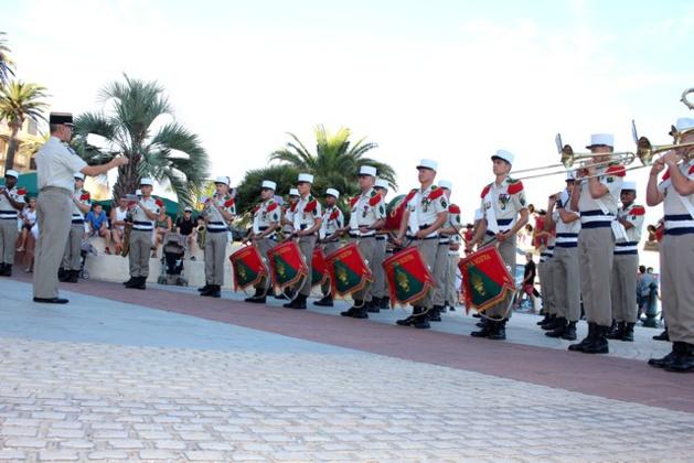 Concert exceptionnel  à Calvi  de la Musique de la Légion Etrangère