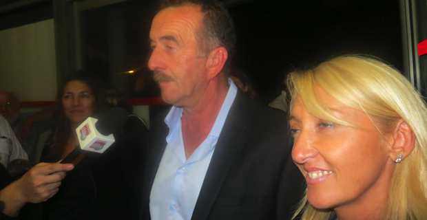 Le binôme de la majorité municipale, formé du nationaliste José Gandolfi et de la socialiste Emmanuelle De Gentili, arrivé en tête au 1er tour des élections départementales partielles du canton de Bastia III, Lupinu - St Joseph.