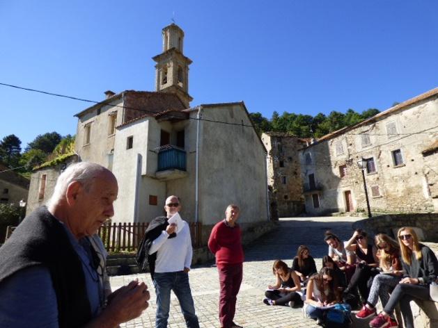 Le projet expliqué par Tony Casalonga du centre culturel Voce